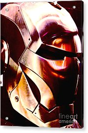 Iron Man 15 Acrylic Print by Micah May