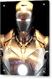 Iron Man 3 Acrylic Print by Micah May