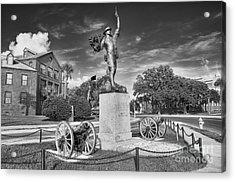 Iron Mke Statue - Parris Island Acrylic Print