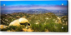Acrylic Print featuring the photograph Iron Mountain View by T Brian Jones