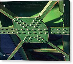 Iron Rail Bridge Acrylic Print