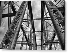 Iron Work Acrylic Print by Russell Todd