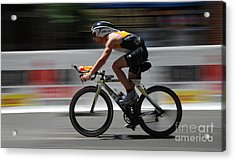 Ironman Need For Speed Acrylic Print by Bob Christopher