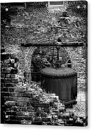 Ironworks Remains Acrylic Print