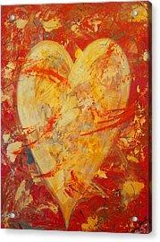 Irrefutable Heart Acrylic Print
