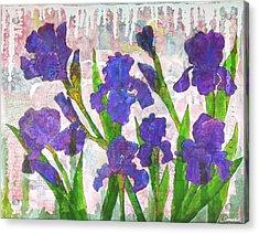 Irresistible Irises Acrylic Print