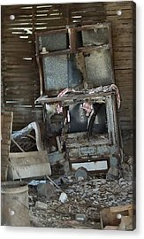 Is Breakfast Ready Acrylic Print by Lynne and Don Wright