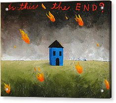 Is This The End Acrylic Print by Pauline Lim