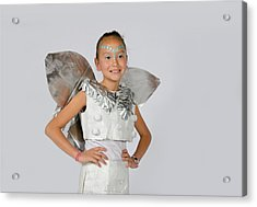 Isa In Snow Fairy Acrylic Print