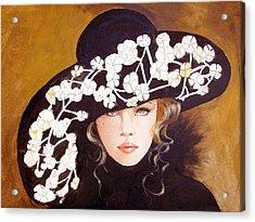 Isabella Acrylic Print by Kay Robinson