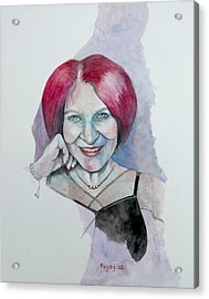 Acrylic Print featuring the painting Isabella by Ray Agius