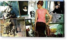 Isabella Stewart Gardner, Art Theft Gallery Acrylic Print
