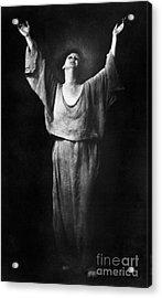 Isadora Duncan (1877-1927) Acrylic Print by Granger