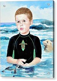 Isaiah Son Of Neptune Acrylic Print