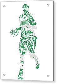 Isaiah Thomas Boston Celtics Pixel Art 17 Acrylic Print