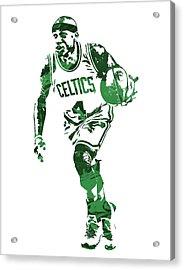 Isaiah Thomas Boston Celtics Pixel Art 4 Acrylic Print