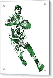 Isaiah Thomas Boston Celtics Pixel Art 5 Acrylic Print