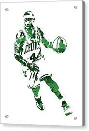 Isaiah Thomas Boston Celtics Pixel Art 6 Acrylic Print