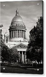 Isakievsky Cathedral Acrylic Print by Konstantin Dikovsky