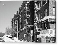Isham Street Winter Acrylic Print