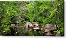 Isinglass River, Barrington, Nh Acrylic Print