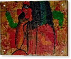 Isis, Egyption Queen Of Earth Acrylic Print