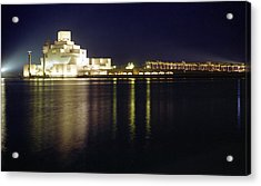 Islamic Museum At Night Acrylic Print