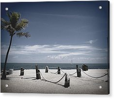 Islamorada Scenery Acrylic Print by Tammy Chesney