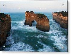 Island Arch And Whirlpools Acrylic Print by Hideaki Sakurai