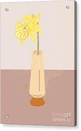 Island Daffodil Acrylic Print