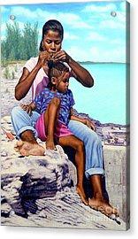 Island Girls II Acrylic Print