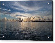 Island Horizon Acrylic Print