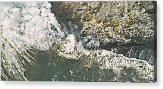 Island In The Making Acrylic Print by Peter J Sucy