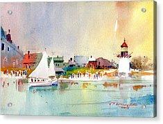 Island Light Acrylic Print