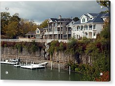 Acrylic Print featuring the photograph Island Living by Kathleen Stephens
