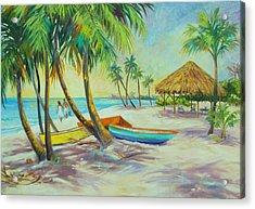 Island Memories Acrylic Print by Dianna  Willman
