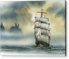 Island Mist Acrylic Print