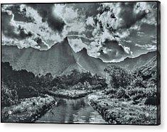 island Moorea Acrylic Print