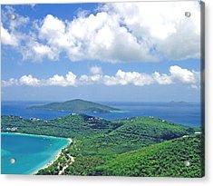 Island Paradise Acrylic Print by Gary Wonning