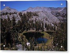 Island Pass Lake Acrylic Print