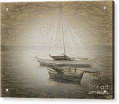 Island Sketches V Acrylic Print