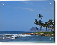 Acrylic Print featuring the photograph Island View by Amee Cave