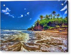 Island Wave Acrylic Print