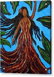 Island Woman Acrylic Print