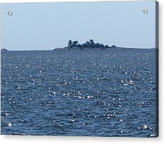 Islands At The Edge Of Georgian Bay  Acrylic Print