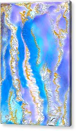 Islands In My Heart Acrylic Print by Heather Hennick