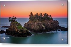 Acrylic Print featuring the photograph Islands In The Sea by Darren White