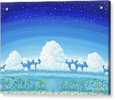 Islands Of Impermanence Acrylic Print