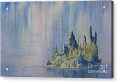 Isle Of Reflection Acrylic Print