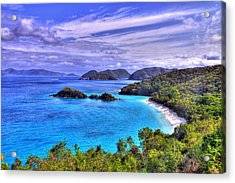 Isle Of Sands Acrylic Print by Scott Mahon
